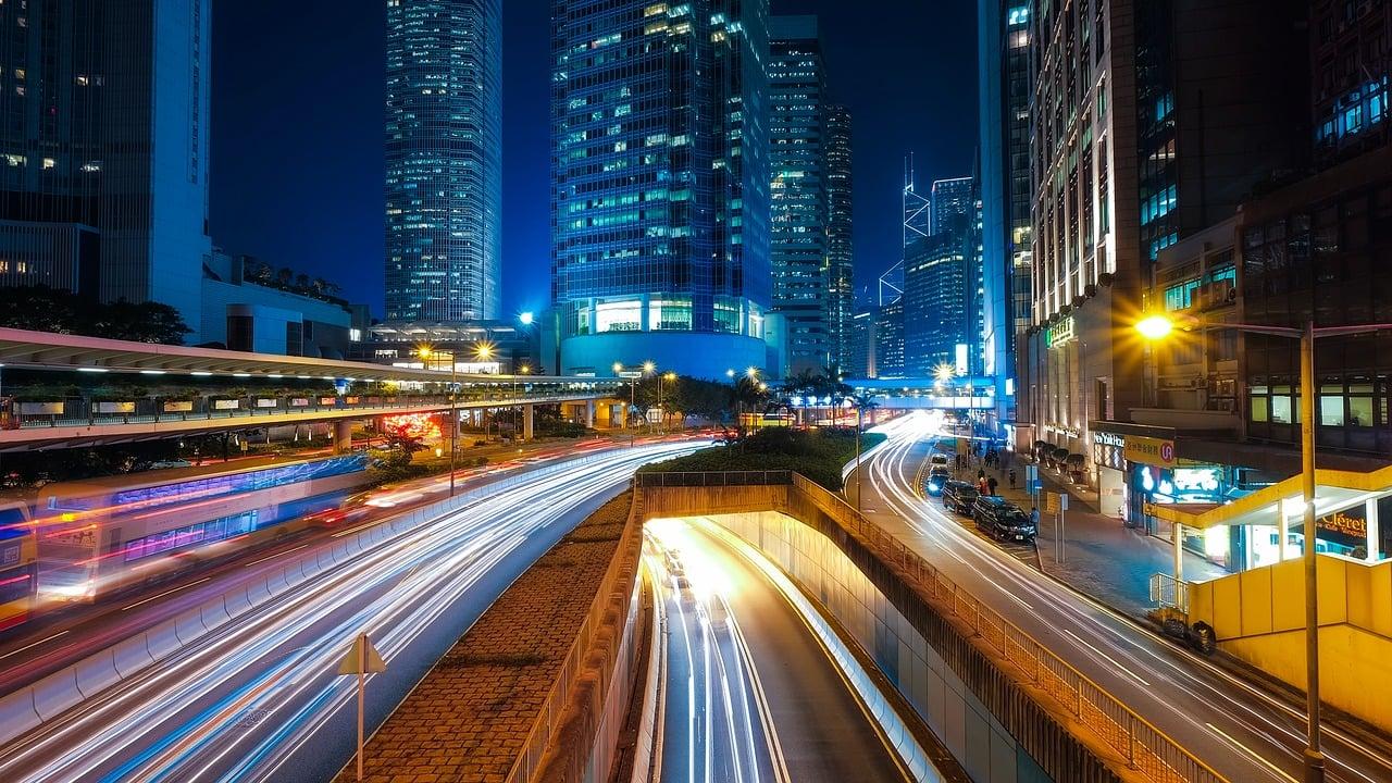 photo of city street